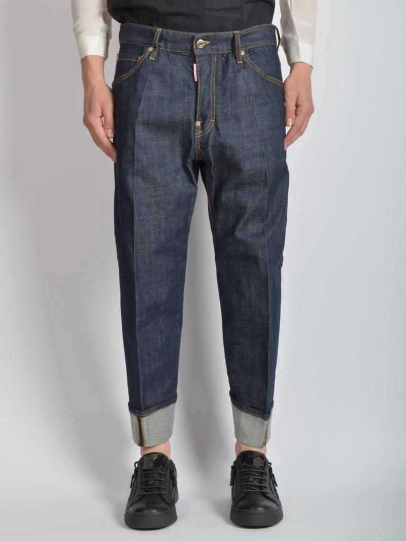 DSQUARED2 JEANS MEN S71LA0896 WORK WEAR JEAN