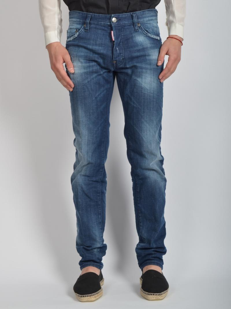 "DSQUARED2  18 Cm  Denim ""Dean"" Jeans"