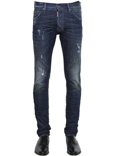 DSQUARED2 16.5CM COOL GUY MIDNIGHT DENIM JEANS