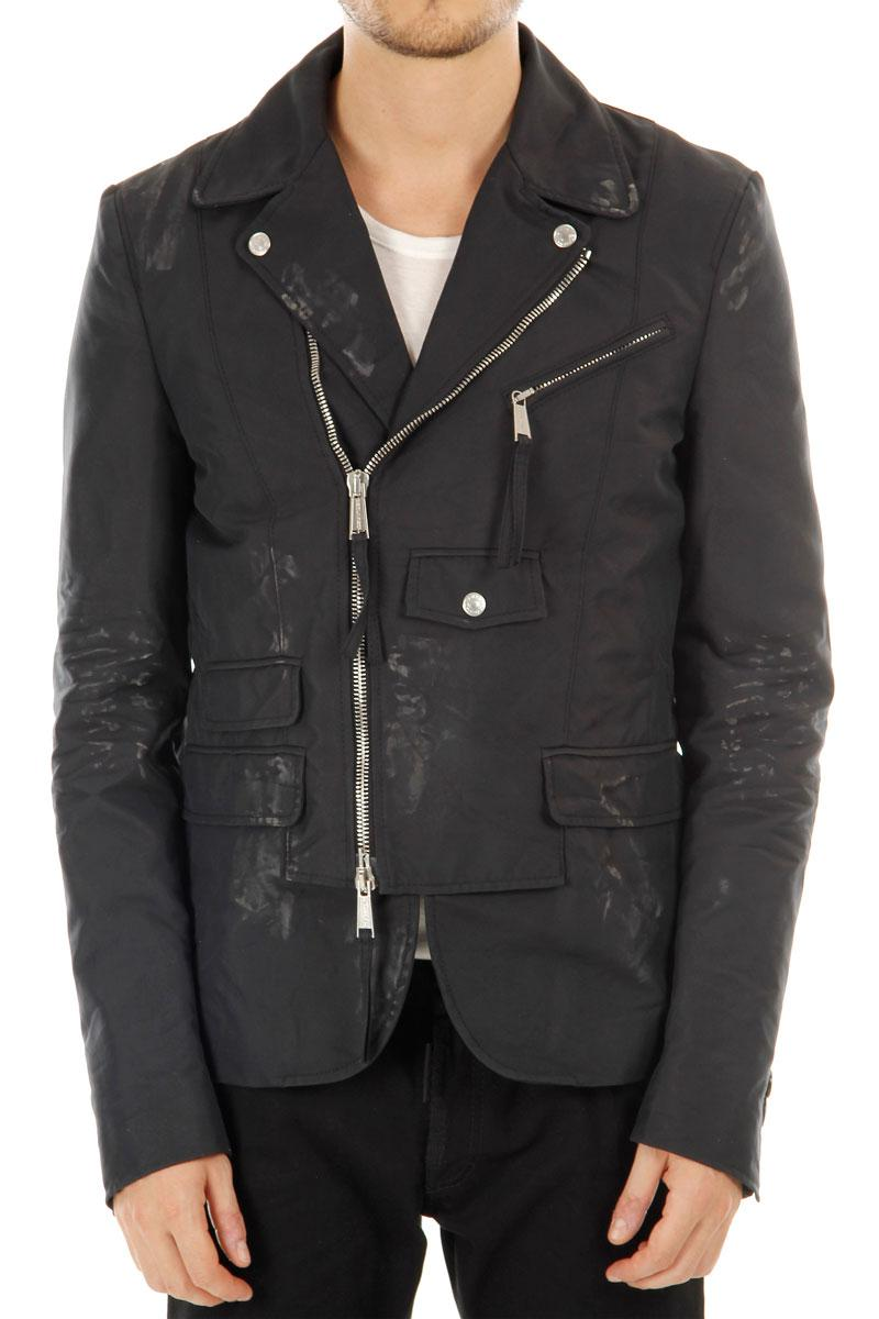 DSQUARED2 Biker Jacket Dirty Effect