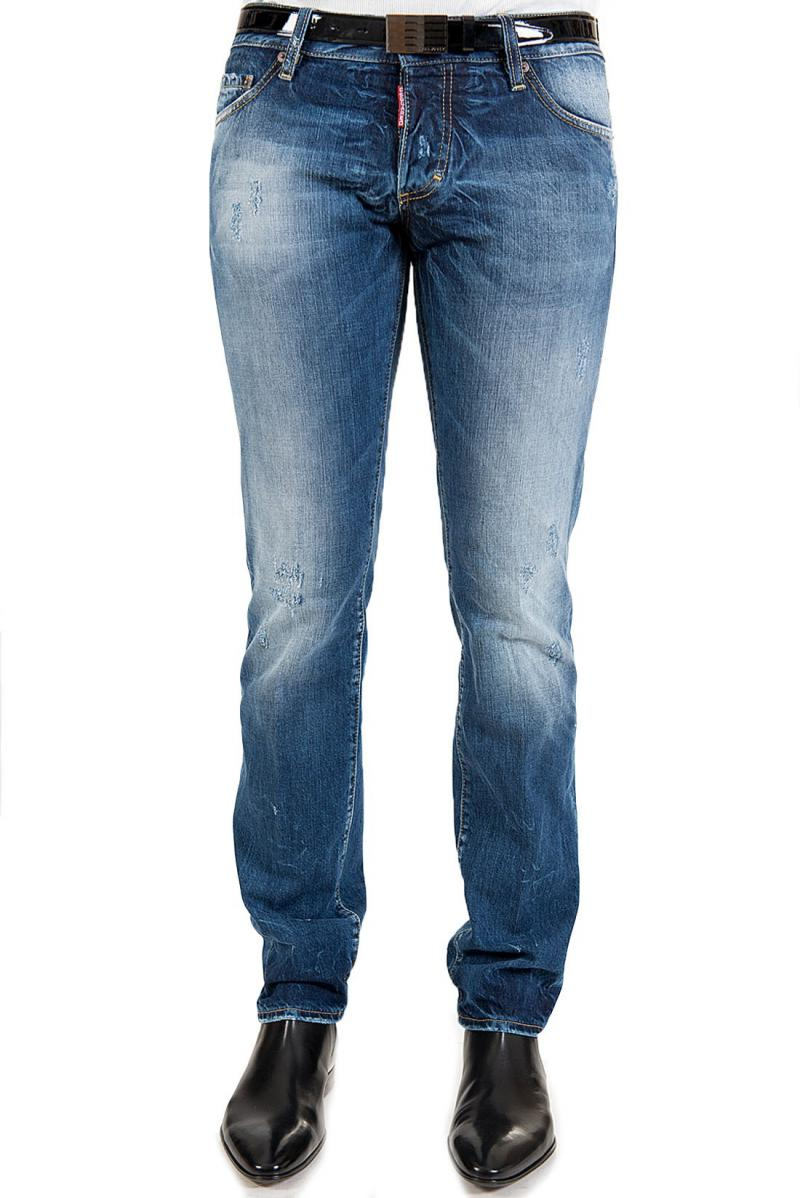 DSQUARED2  18CM SLIM JEAN  DENIM JEANS