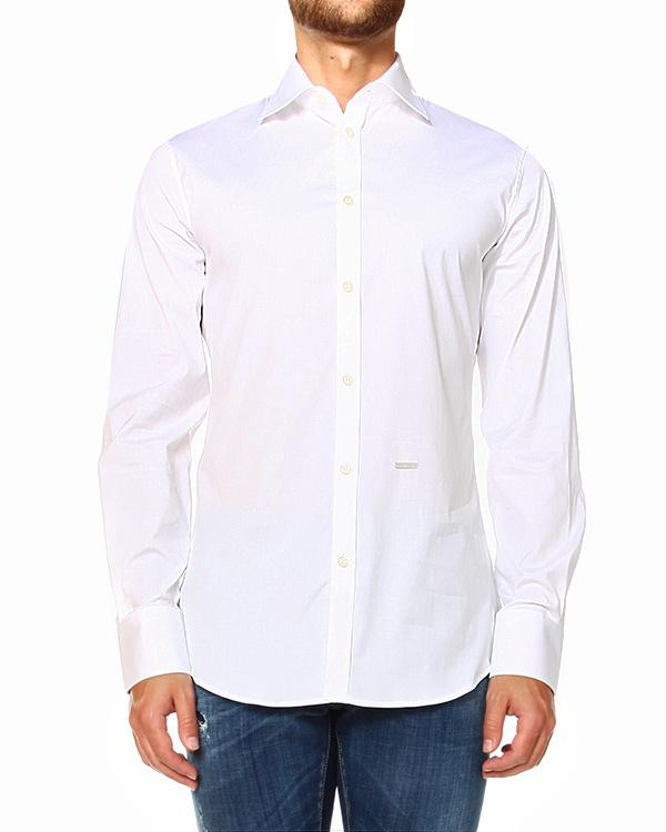 DSQUARED2 STRECH COTTON SHIRT