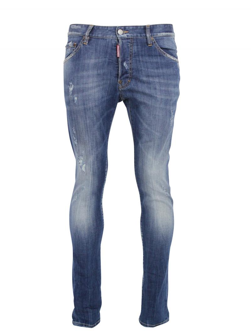 DSQUARED2 JEANS 16.5CM COOL GUY JEAN DENIM