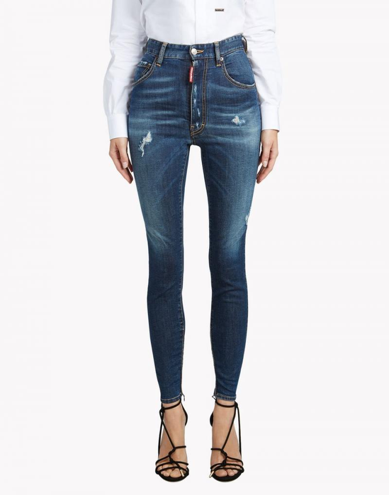 DSQUARED2 JEANS High Waist Twiggy Jean New Fall-Winter 2016