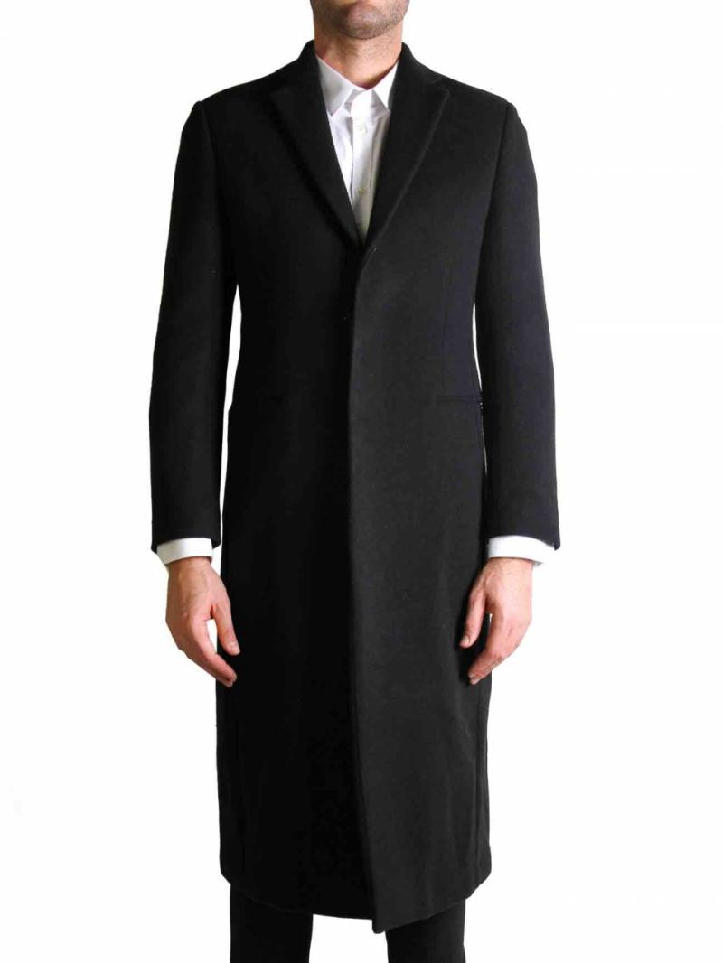 The Suits black Bobby coat