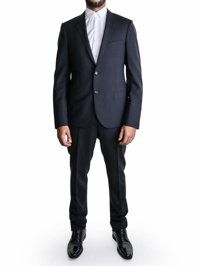 Lanvin black two-piece suit