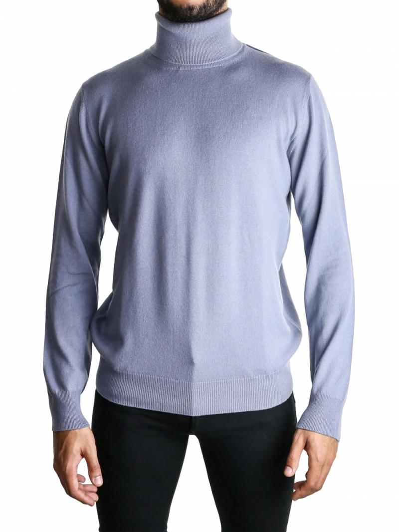 LANVIN light blue turtleneck sweater