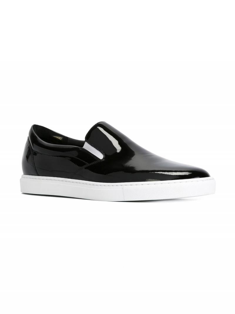 DSQUARED2 SHOES classic slip-on sneakers