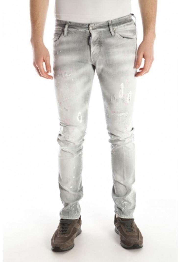 DSQUARED2 JEANS 18CM SLIM FIT STRETCH JEANS