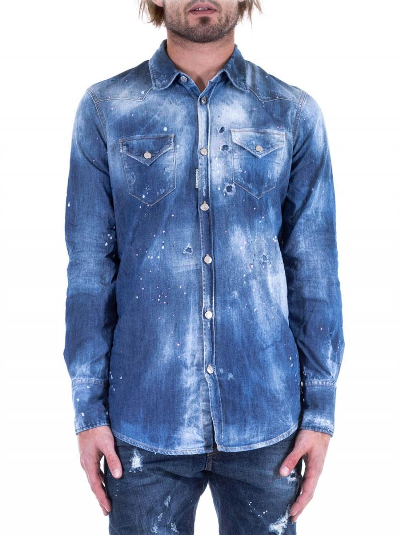 DSQUARED2 SHIRTS jeans shirt