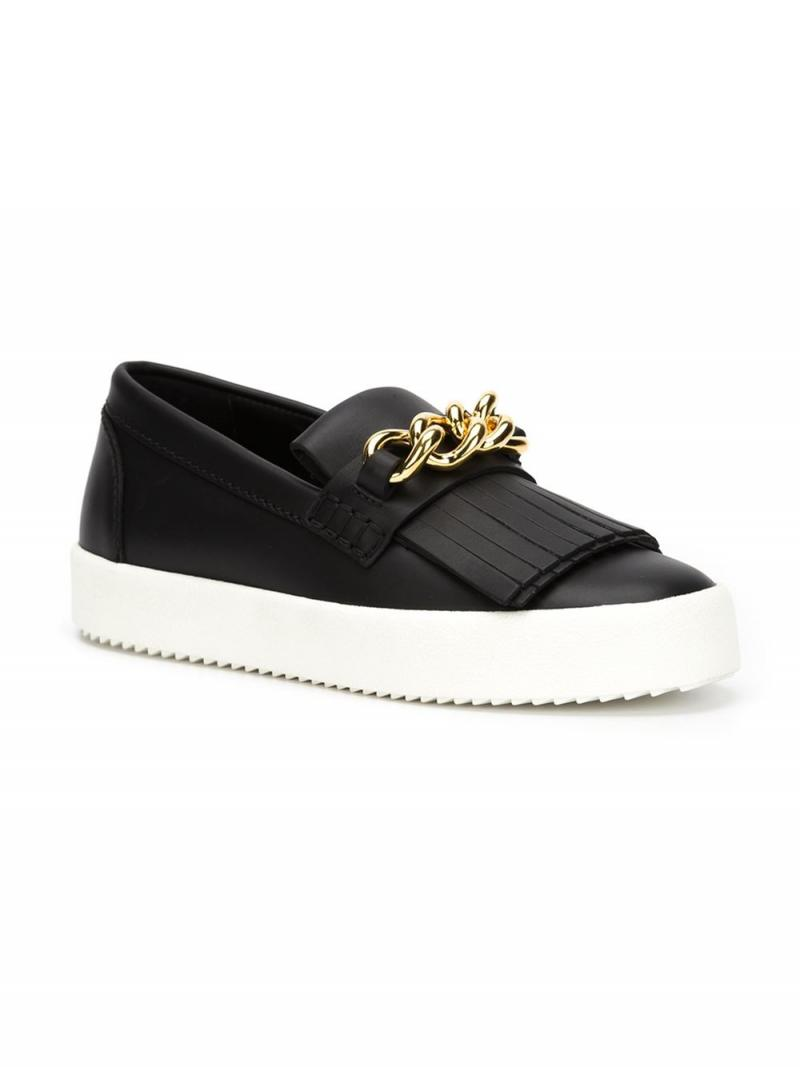 Giuseppe Zanotti Design 'May London' fringed slip-on sneakers