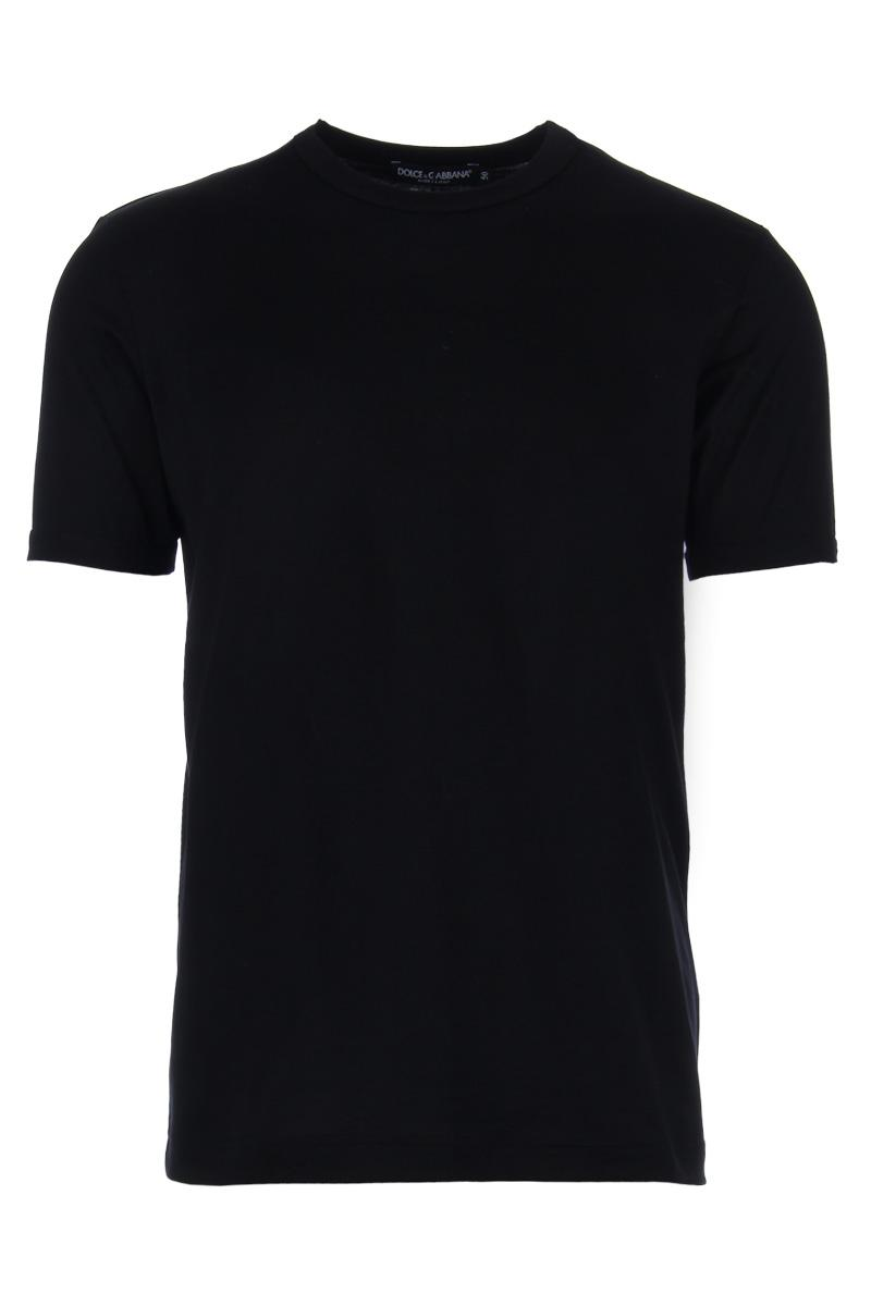 DOLCE&GABBANA crew neck basic t-shirt