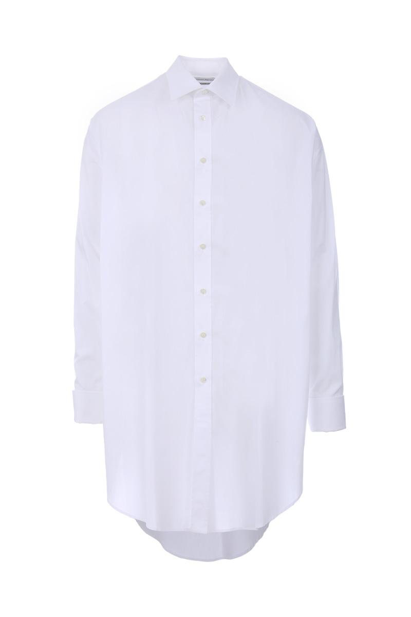 ALEXANDER MCQUEEN  cotton poplin oversized shirt