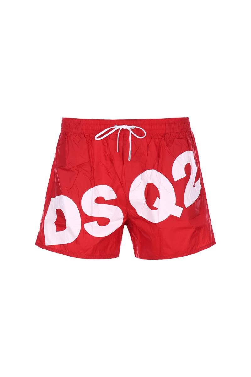 DSQUARED2 logo swim shorts