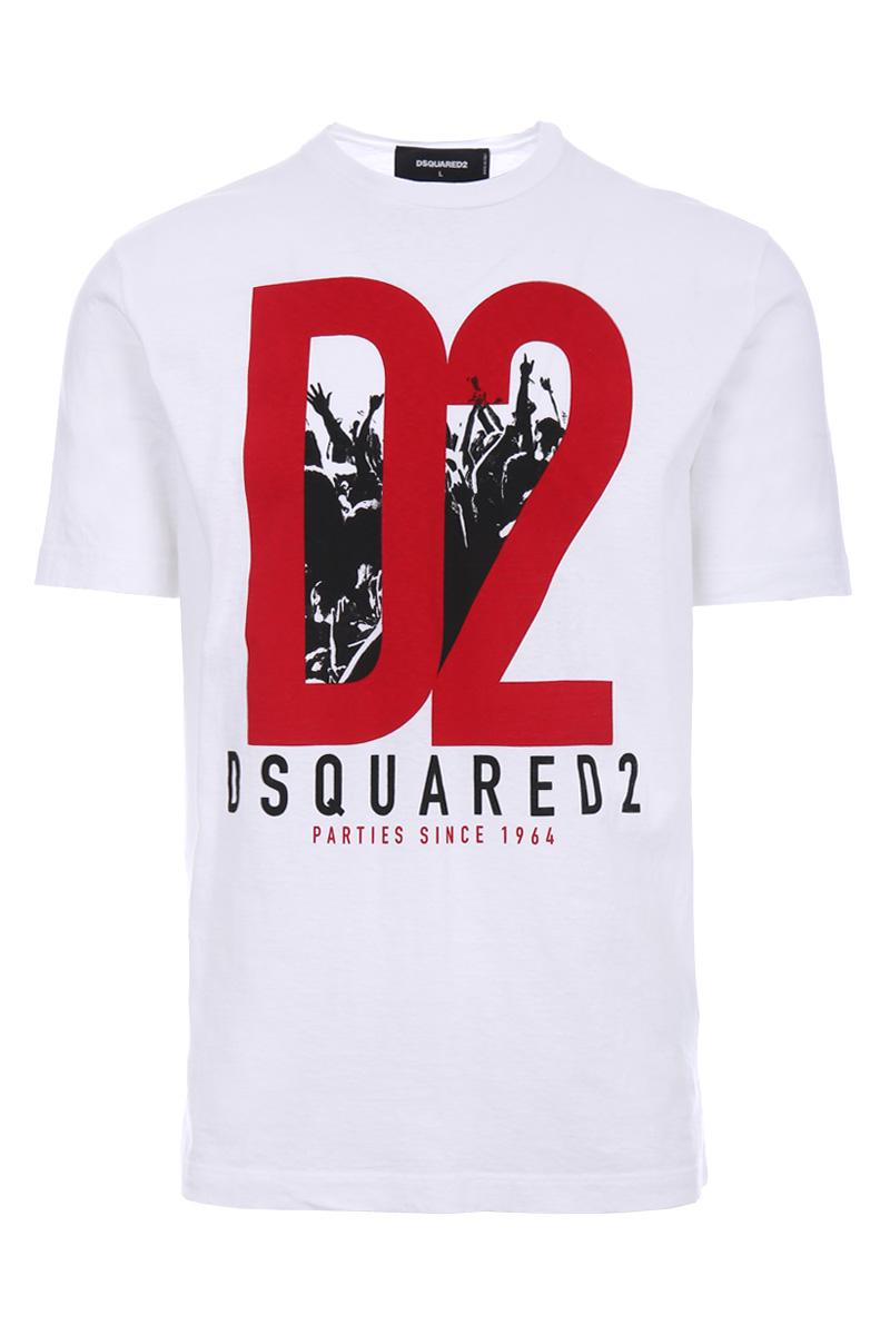 DSQUARED2 D2 jersey t-shirt