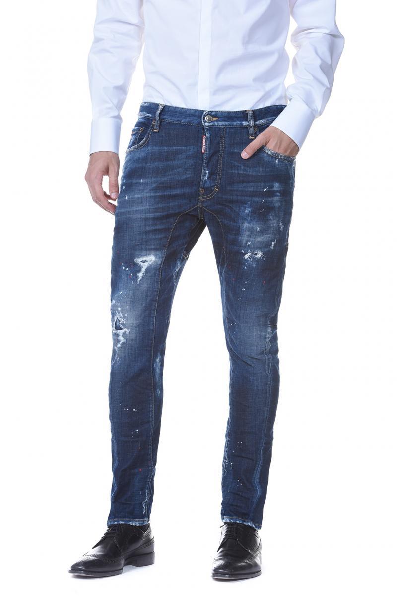 17cm Stretch Cotton SKATER JEAN Jeans Spring/summer Dsquared2 KMDq4DTi8
