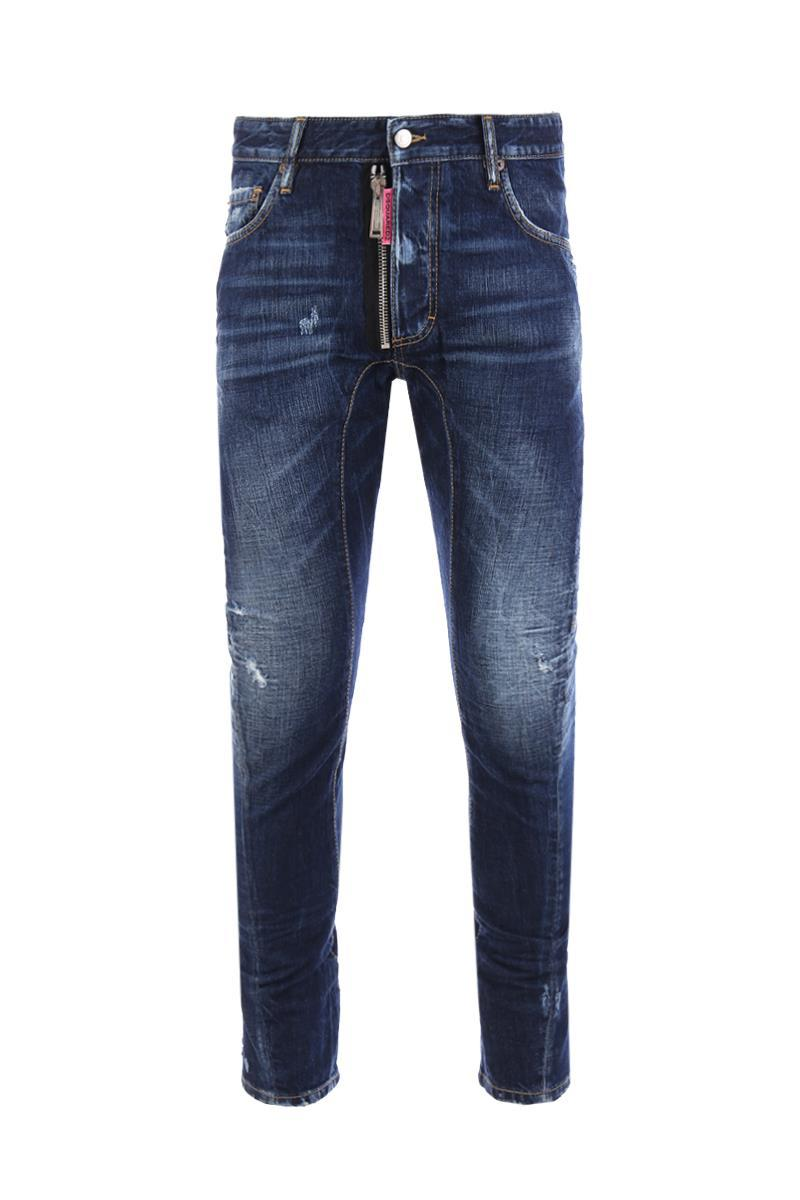 "DSQUARED2 tidy biker jeans "" be cool be nice """