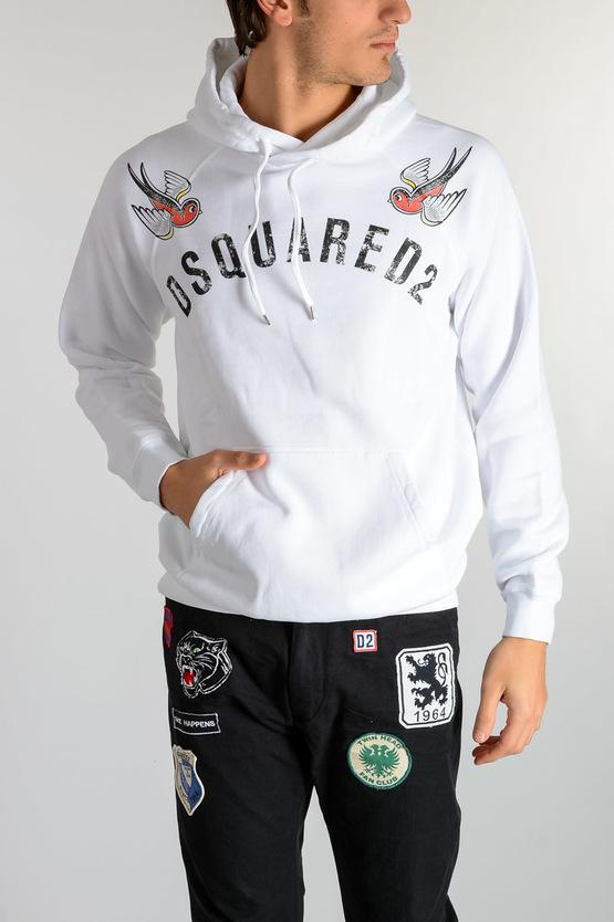 DSQUARED2 HOODED SWEATSHIRT