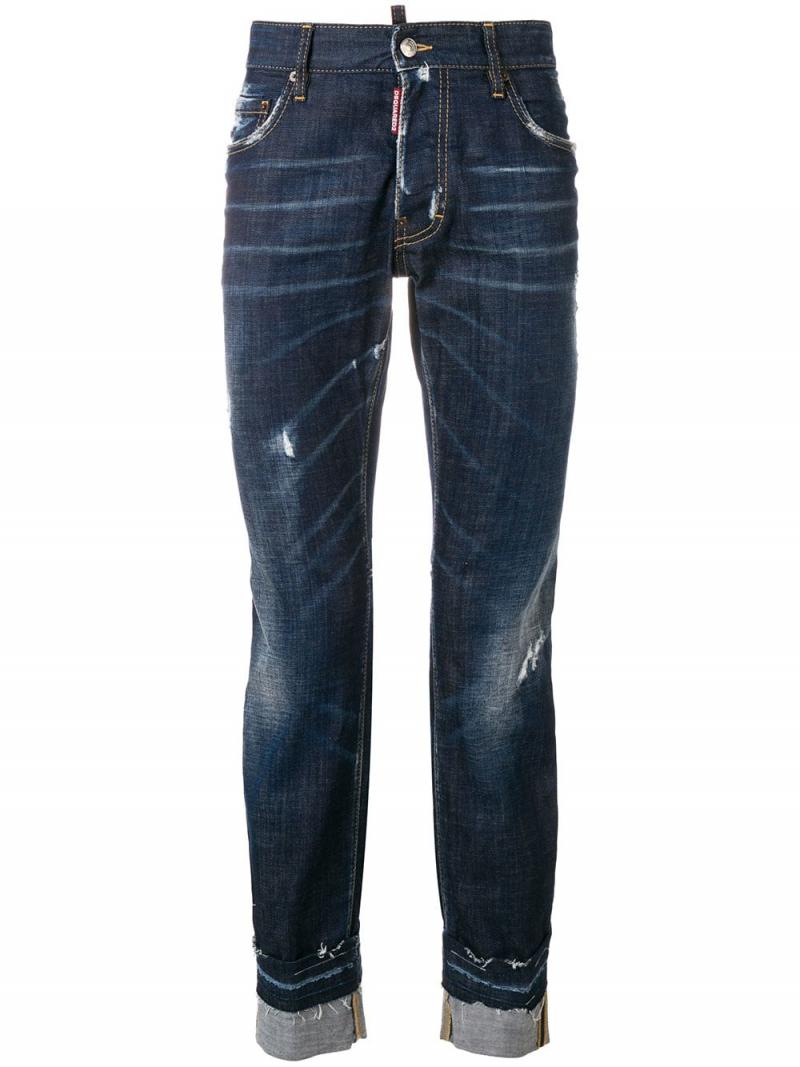 DSQUARED2 City Biker distressed jeans
