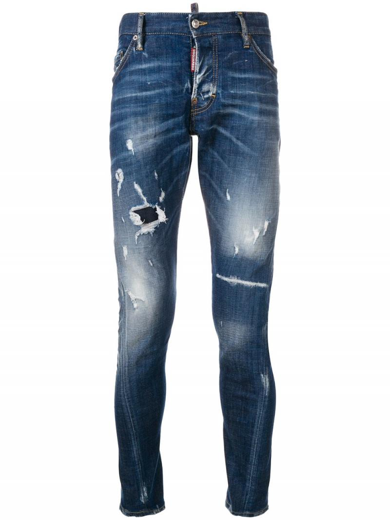 DSQUARED2 Sexy Twist distressed jeans