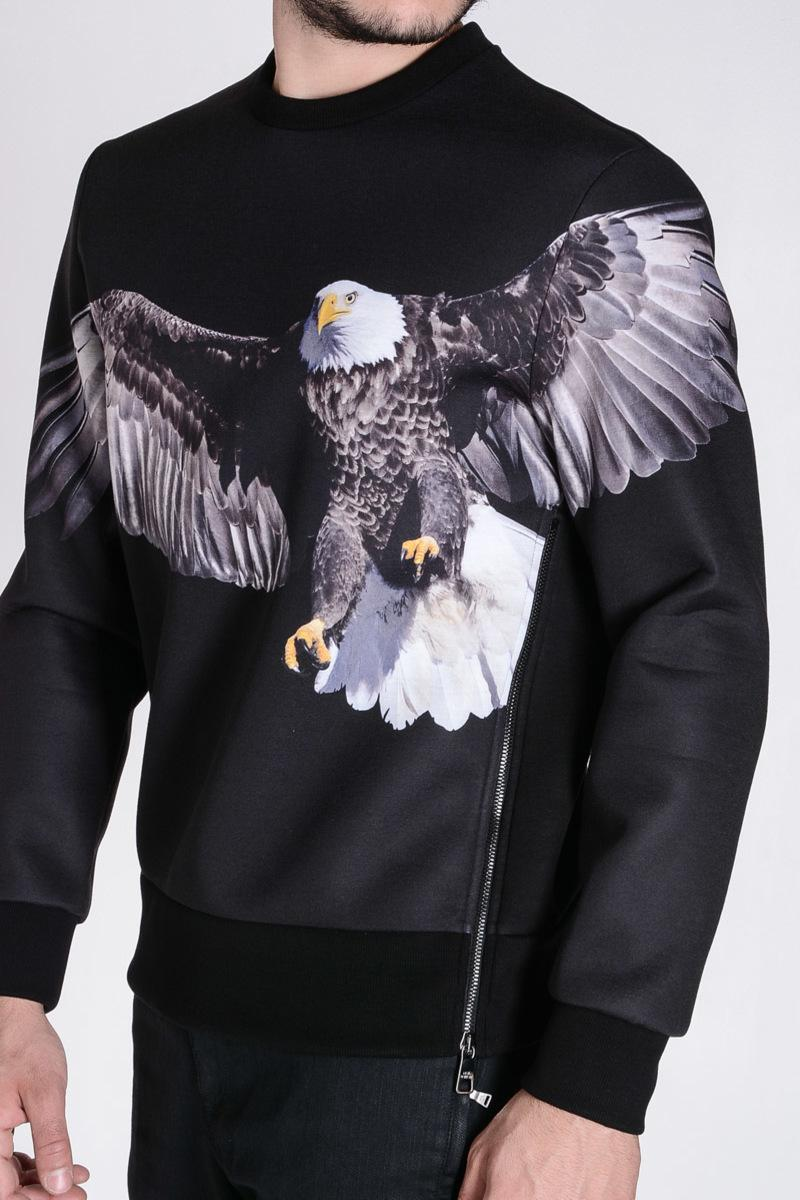 NEIL BARRETT neoprene eagle