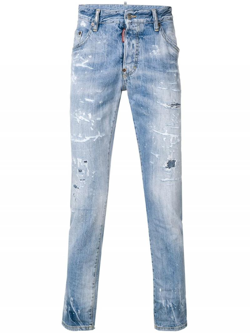 DSQUARED2 DENIM SKATER JEAN