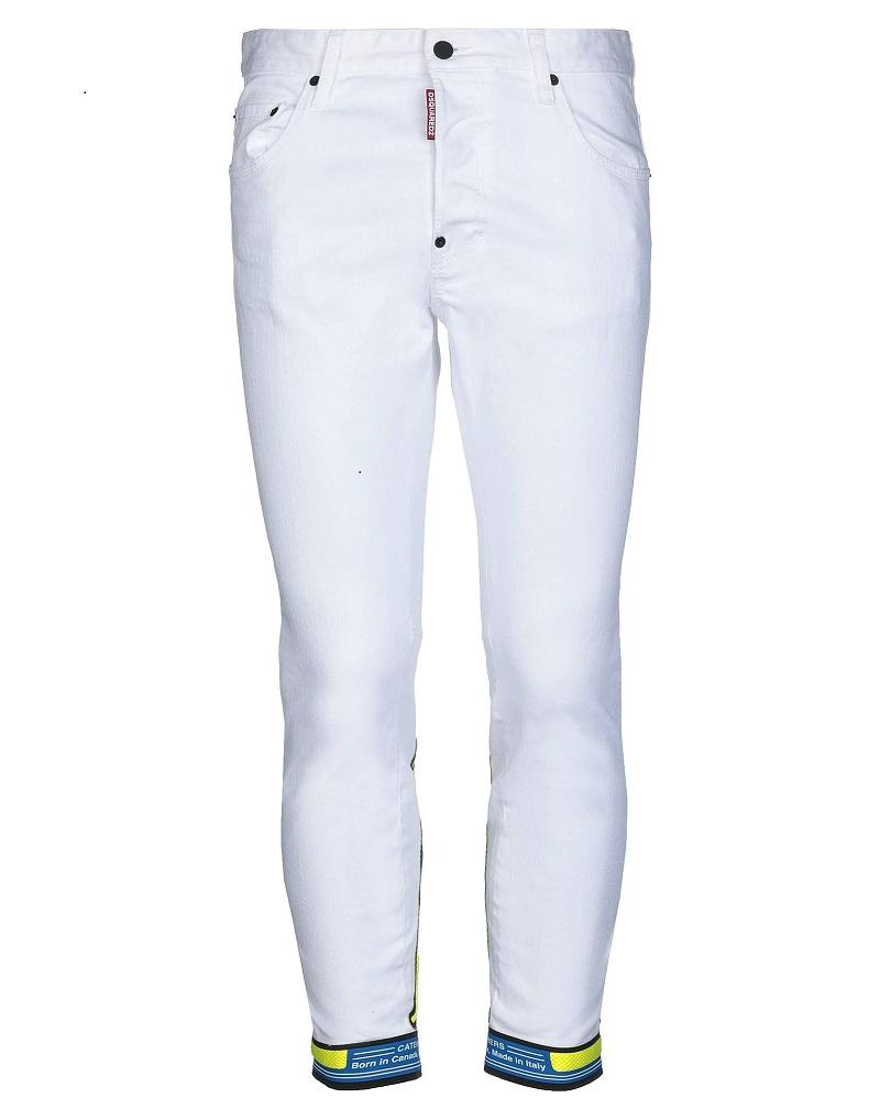DSQUARED2 Motocross biker denim trousers