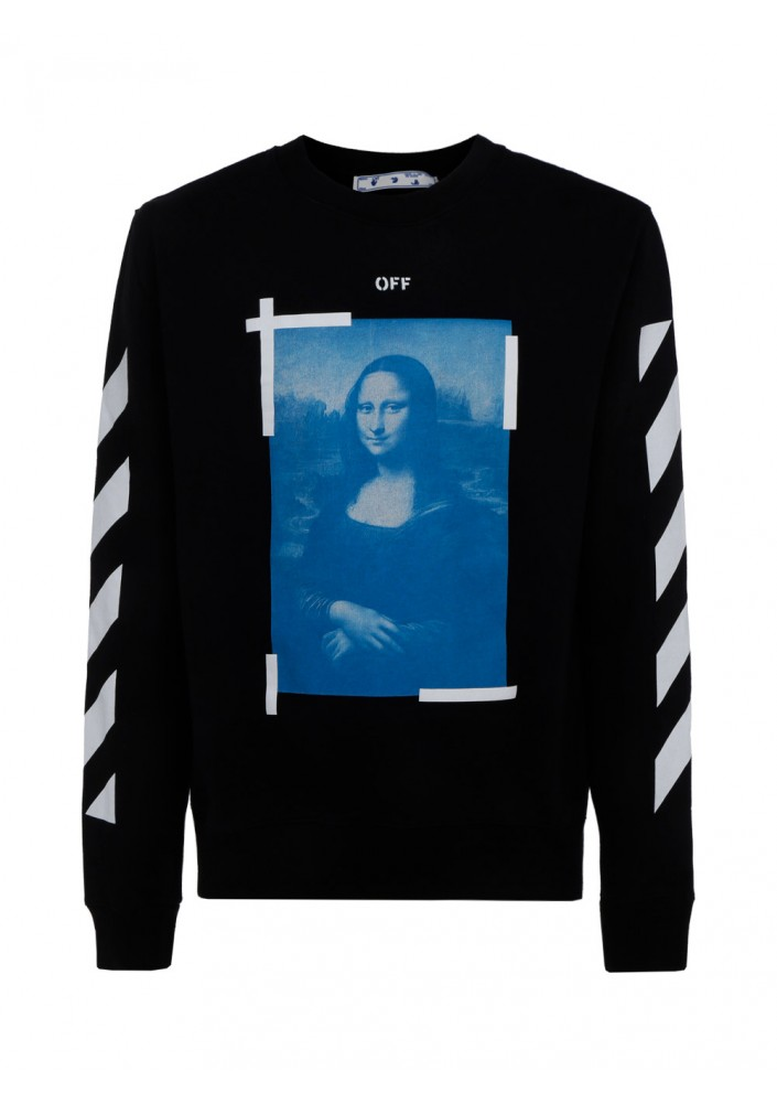 OFF-WHITE sweatshirt Mona Lisa