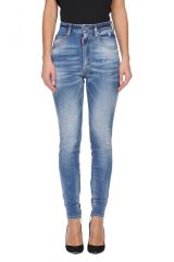 DSQUARED2 JEANS  High Waist Twiggy Jean